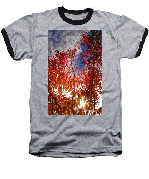 Baseball T-Shirt featuring the photograph Catharsis by CML Brown