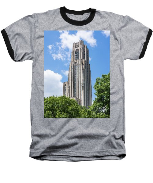 Cathedral Of Learning - Pittsburgh Pa Baseball T-Shirt