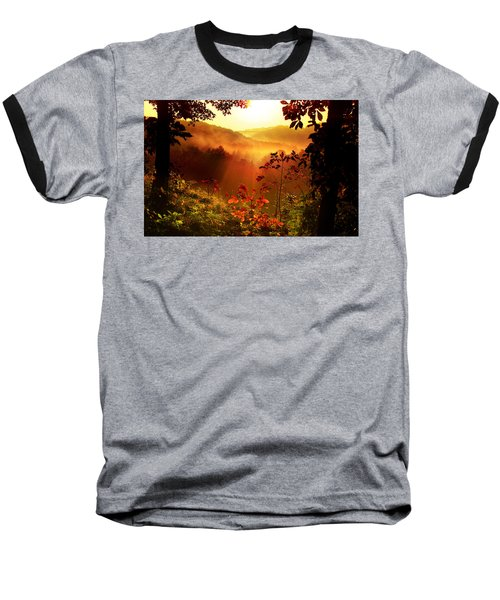 Cathedral Of Light Baseball T-Shirt