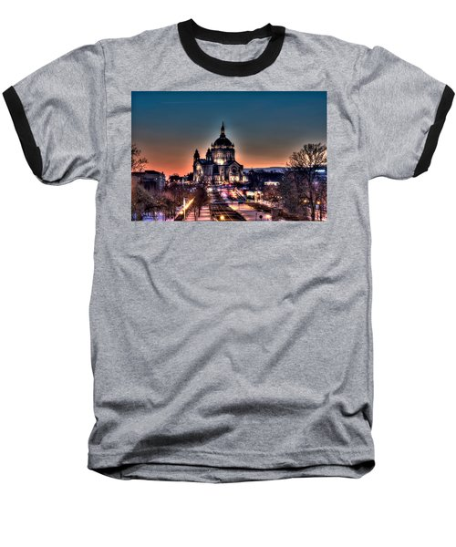 Cathedral Of Saint Paul Baseball T-Shirt by Amanda Stadther