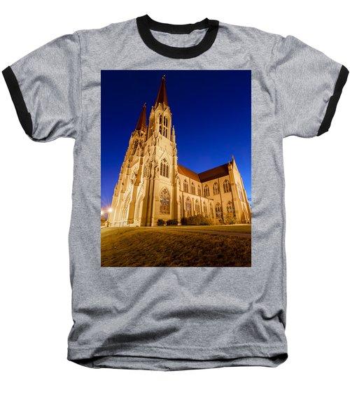 Morning At The Cathedral Of St Helena Baseball T-Shirt