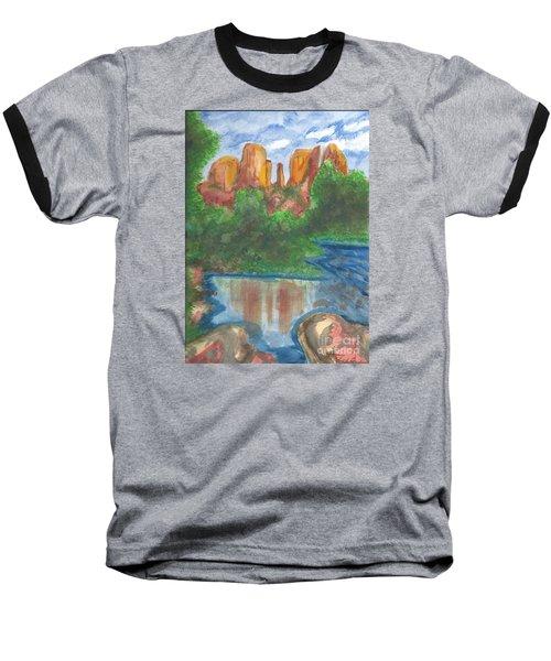 Cathedral Rock Baseball T-Shirt