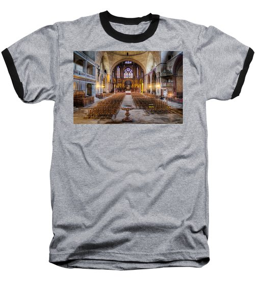 Cathedrale Saint-etienne Interior / Cahors Baseball T-Shirt