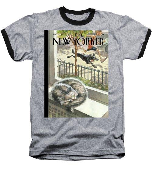 Catnap Baseball T-Shirt