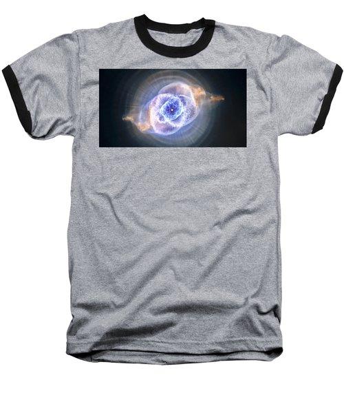 Cat's Eye Nebula Baseball T-Shirt