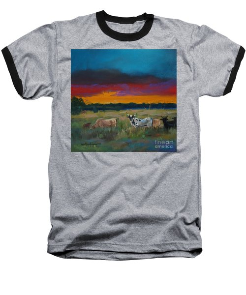 Cattle's Cadence Baseball T-Shirt