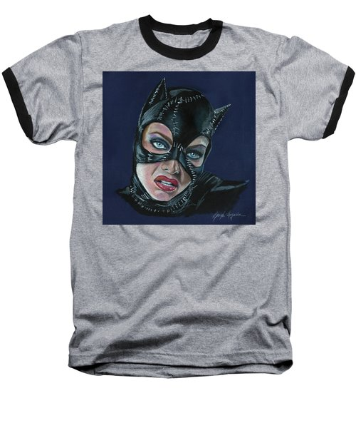 Catwoman Baseball T-Shirt