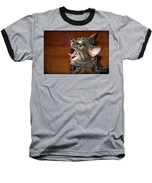 Caught In The Act Baseball T-Shirt