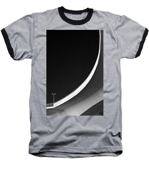 Causeway Arc Clearwater Florida Black And White Baseball T-Shirt