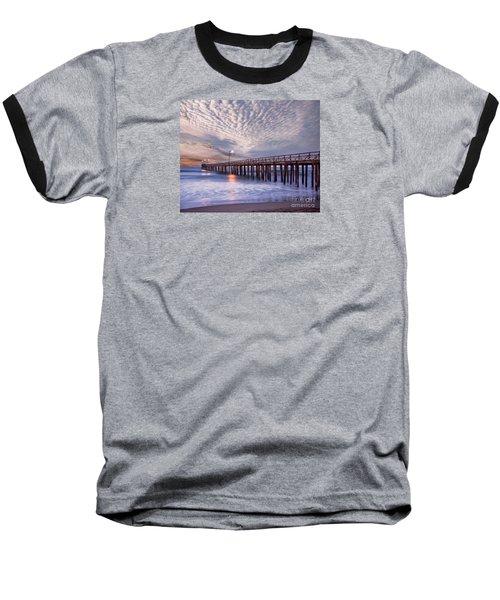 Cayucos Pier Baseball T-Shirt