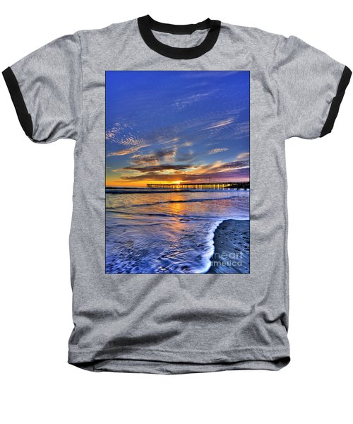 Cayucos Sunset Baseball T-Shirt