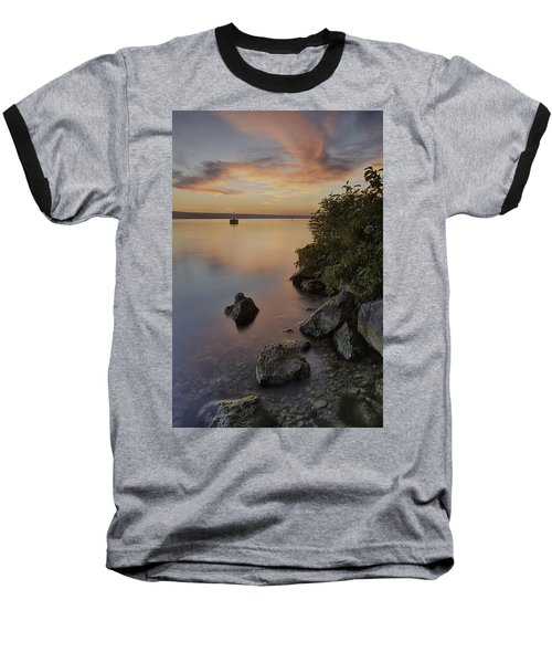 Cayuga Sunset I Baseball T-Shirt