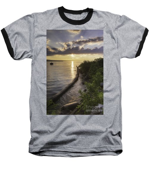 Cayuga Sunset II Baseball T-Shirt
