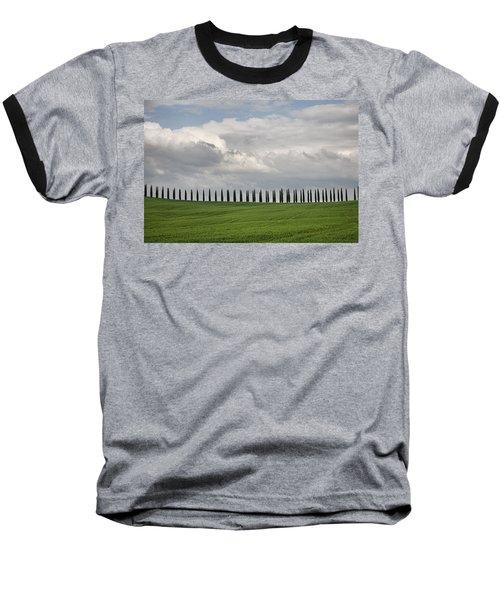 Baseball T-Shirt featuring the photograph Cedar Sienna by Hugh Smith