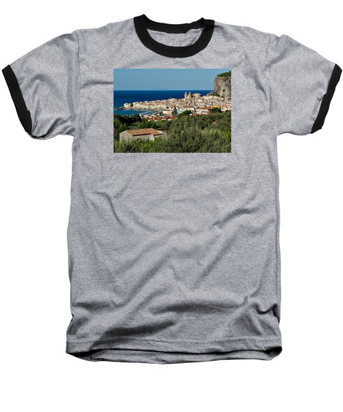 Cefalu Sicily Baseball T-Shirt