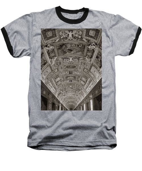 Ceiling Of Hall Of Maps Baseball T-Shirt