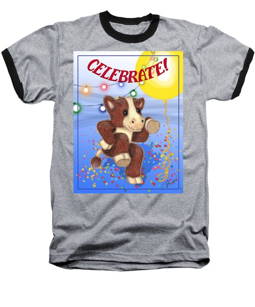 Celebrate Baseball T-Shirt by Jerry Ruffin