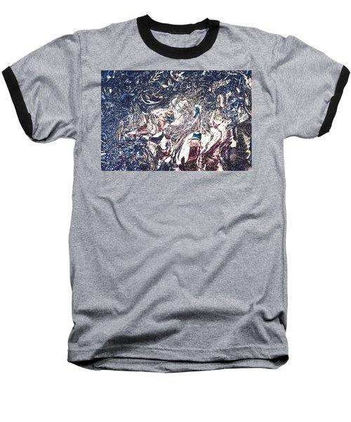 Baseball T-Shirt featuring the digital art Celebration Of Entanglement by Richard Thomas