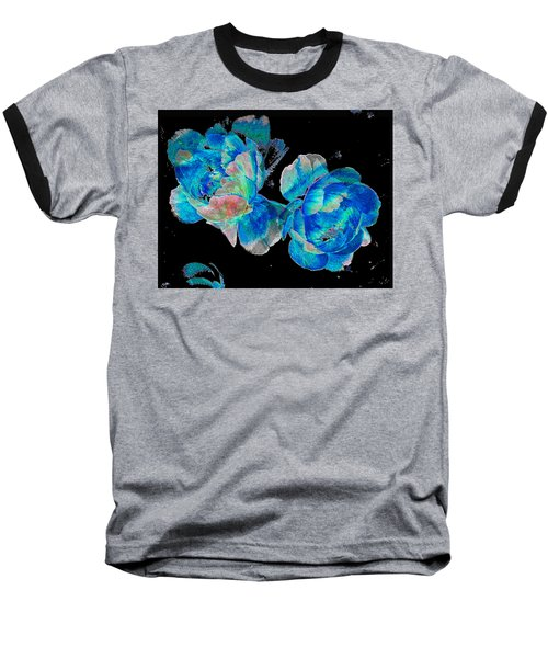 Celestial Blooms Baseball T-Shirt