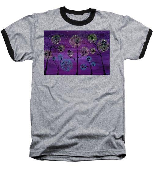 Celestial Garden Baseball T-Shirt
