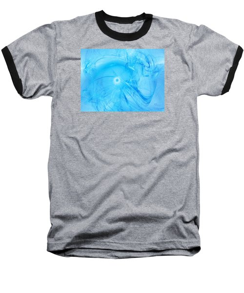 Celestial Intelligencer Baseball T-Shirt by Jeff Iverson