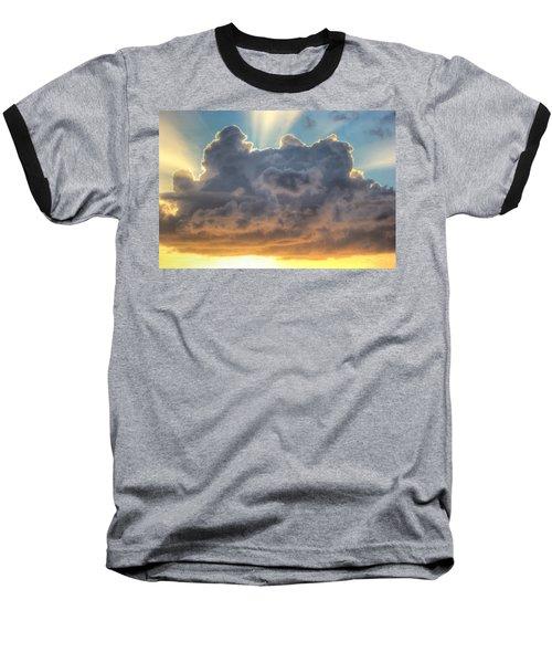 Celestial Rays Baseball T-Shirt by Shelley Neff