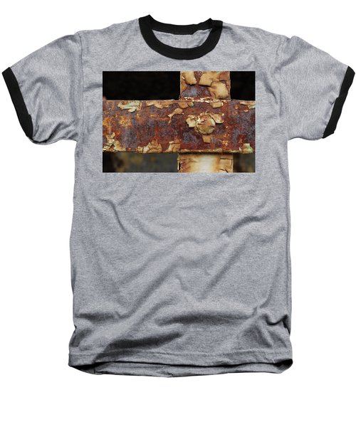 Baseball T-Shirt featuring the photograph Cell Strapping by Fran Riley