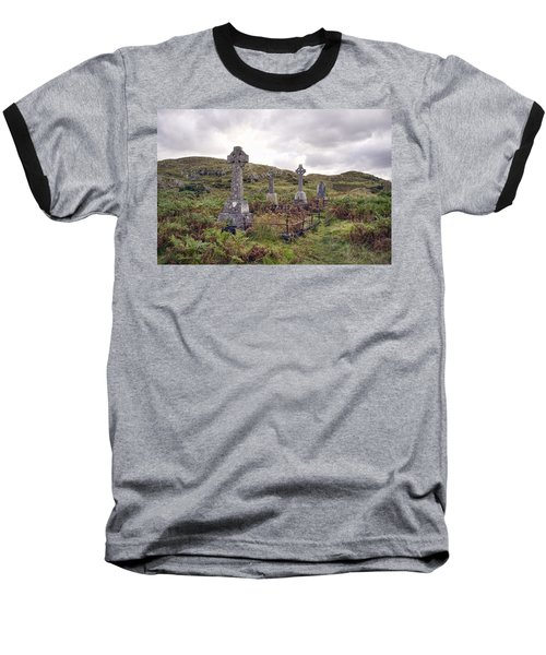 Baseball T-Shirt featuring the photograph Celtic Cemetary by Hugh Smith