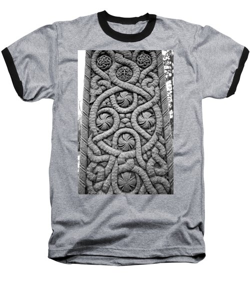Celtic Cross Baseball T-Shirt