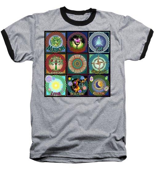 Celtic Festivals Calendar Baseball T-Shirt