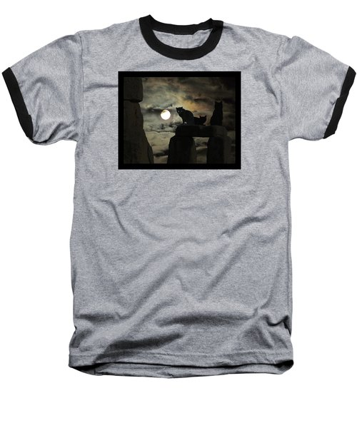 Baseball T-Shirt featuring the photograph Celtic Nights by I'ina Van Lawick