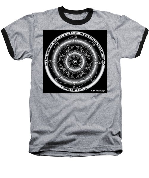 Celtic Spider Mandala Baseball T-Shirt