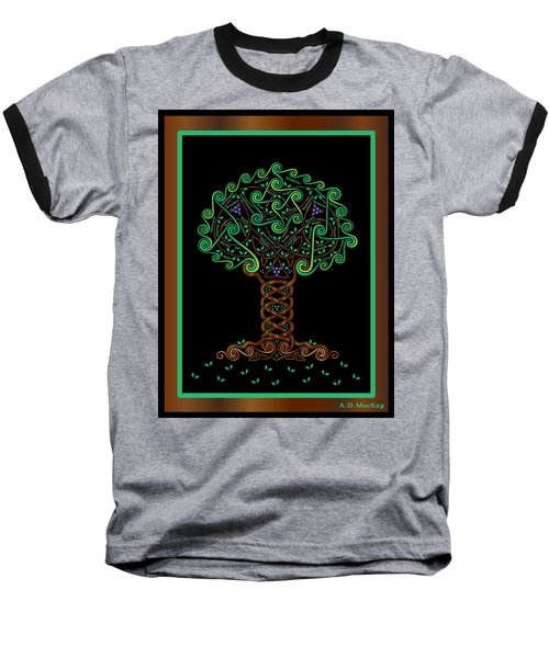 Celtic Tree Of Life Baseball T-Shirt