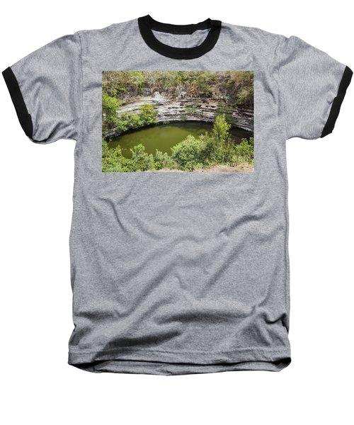 Cenote Sagrado At Chichen Itza Baseball T-Shirt