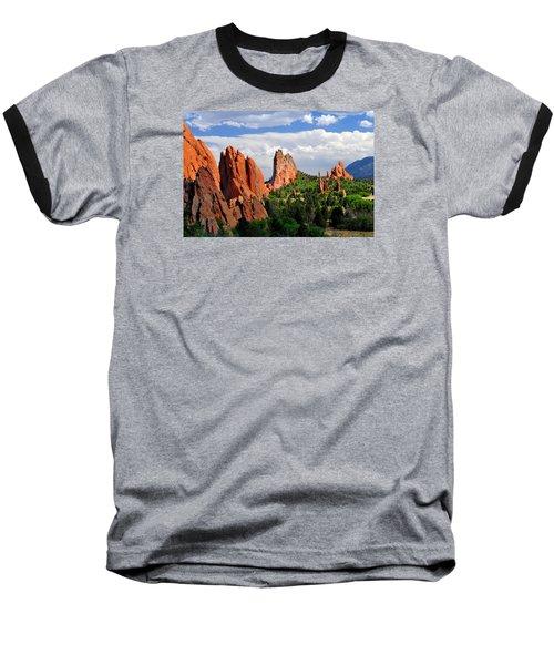 Central Garden Of The Gods Park Baseball T-Shirt