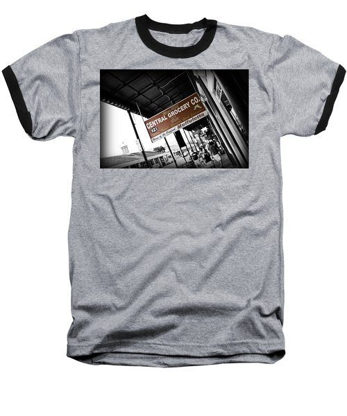 Central Grocery Baseball T-Shirt