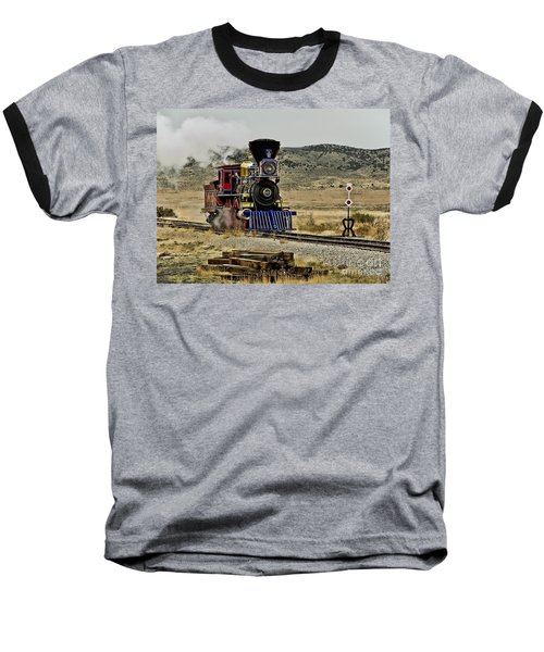 Baseball T-Shirt featuring the photograph Central Pacific's Jupiter by David Lawson