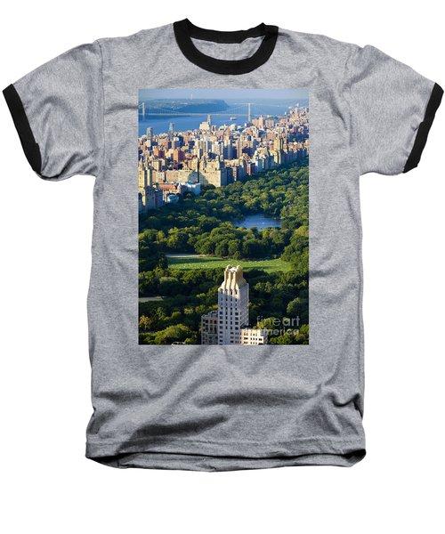 Central Park Baseball T-Shirt by Brian Jannsen