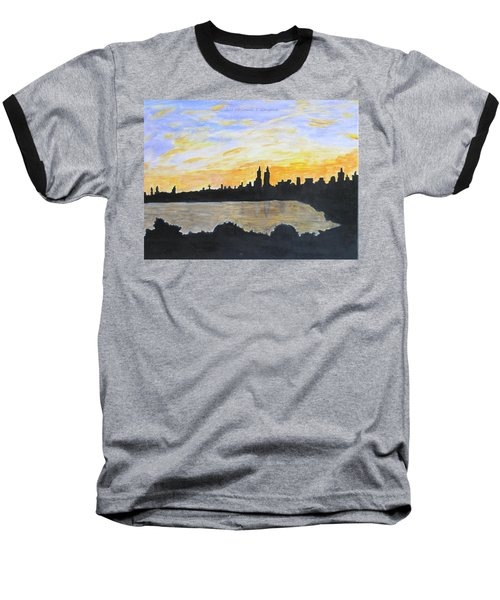 Central Park In Newyork Baseball T-Shirt