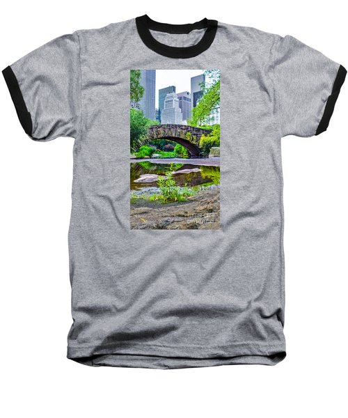 Central Park Nature Oasis Baseball T-Shirt