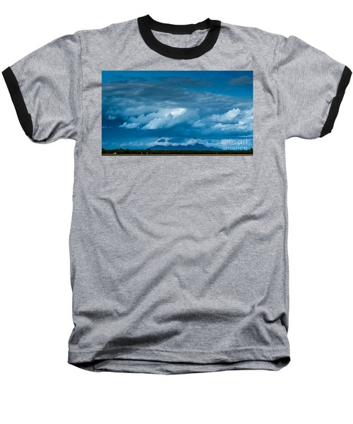Central Valley Clouds Baseball T-Shirt