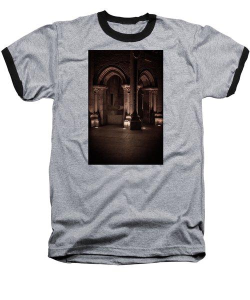 Baseball T-Shirt featuring the photograph Chafariz Dos Canos by Edgar Laureano