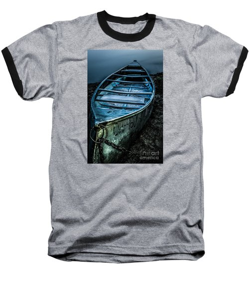 Chained At The Waters Edge Baseball T-Shirt
