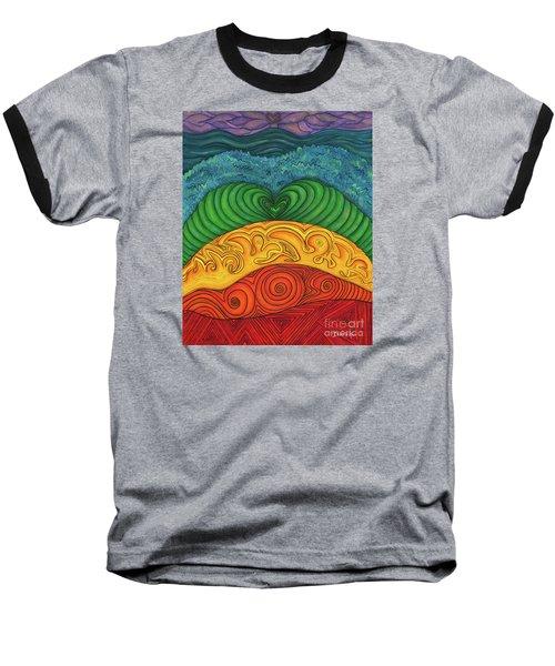 Chakra Ascension Baseball T-Shirt