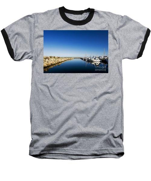 Challenger Harbour Of Fremantle Baseball T-Shirt