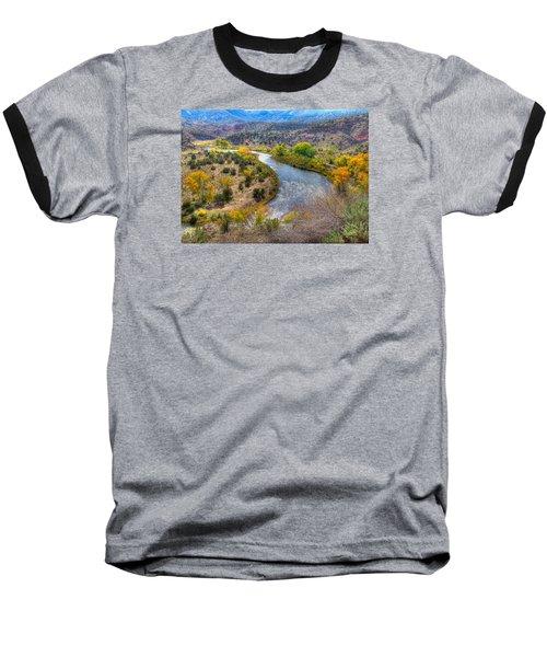 Chama River Overlook Baseball T-Shirt