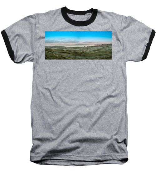 Chambers Bay Panorama Baseball T-Shirt