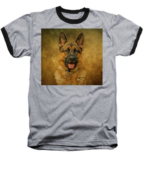 Chance - German Shepherd Baseball T-Shirt