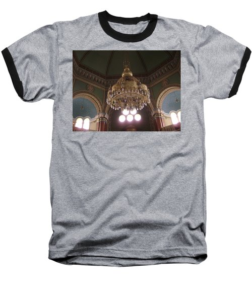 Chandelier Of Sofia Synagogue Baseball T-Shirt