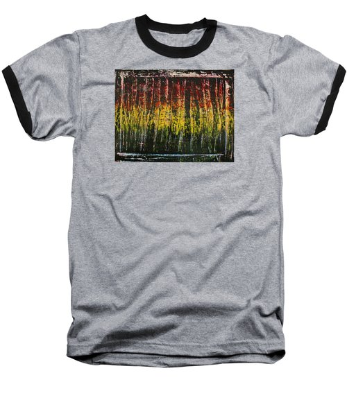 Baseball T-Shirt featuring the painting Change Is Good by Michael Cross